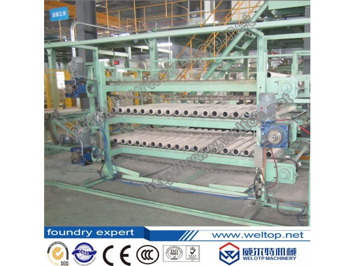 Two-station Fully Automatic Centrifugal Casting Machine for cylinder liner