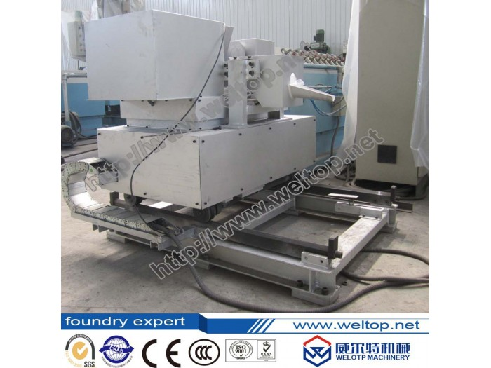 Two-station fully Automatic Centrifugal Casting Machine for cylinder liners
