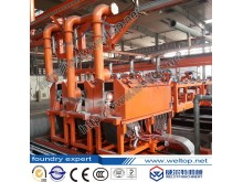 Three-Station Fully Automatic Centrifugal Casting Machine For Cylinder Liners
